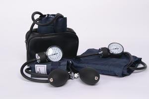 ADC Generic Aneroid Sphygmomanometer, Adult, Navy, Latex Free (LF)