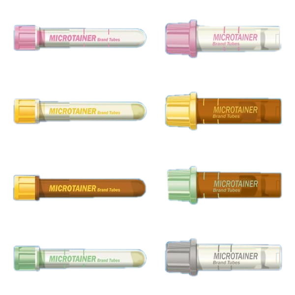 BD Microtainer® Blood Collection Tubes, Lithium Heparin, Microgard™ ClosureBecton DickinsonCapillary Blood Collection TubeAOSS Medical Supply