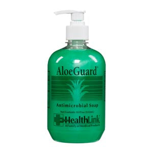 AloeGuard® Antimicrobial Soap Pump Bottle (18 fl. oz.) 12/CS