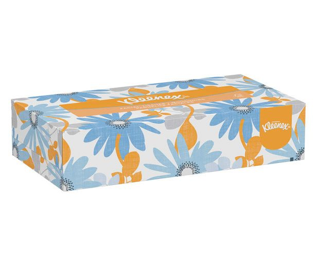 "Kleenex Jr. Facial Tissue 8.4"" x 5.8"" 2 Ply WhiteKimberly-ClarkKleenexAOSS Medical Supply"