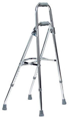 Lumex Walkane - Side Step Folding Walker Adjustable Height Aluminum - 2/case