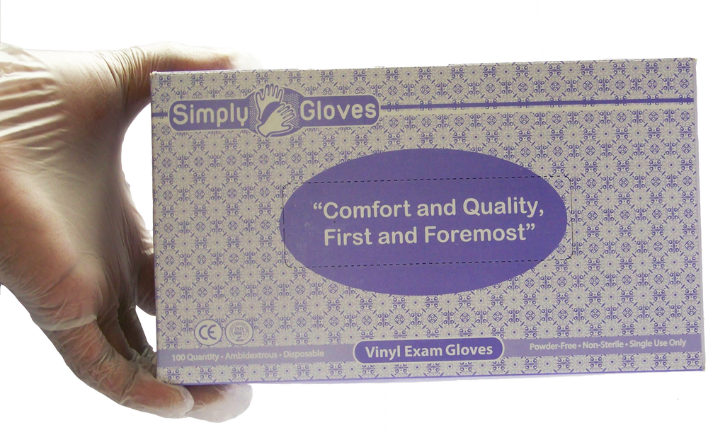 AOSS Simply Gloves® Powder-Free Vinyl Exam GlovesAOSS Medical SupplyExam GlovesAOSS Medical Supply