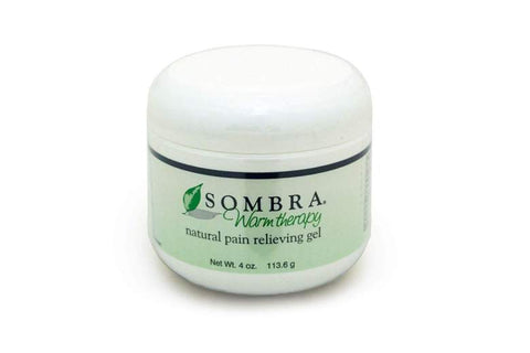 Sombra Warm Therapy Natural Pain Relieving Gel, 4 oz.