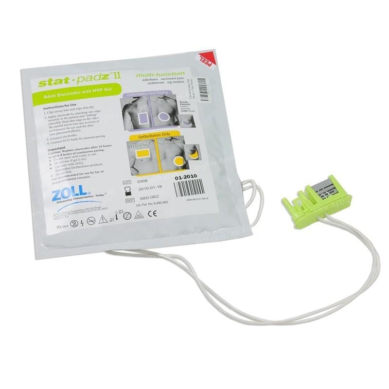 ZOLL Stat-padz® II HVP, Multi-Function Adult Electrodes, 2-Year Shelf LifeZollAdult ElectrodesAOSS Medical Supply