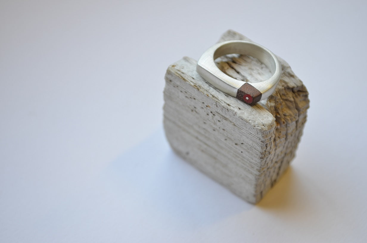The African Black Oyster Catcher Ring