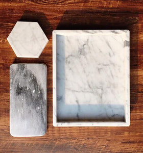 White Marble Homeware Set 白色系列大理石組合