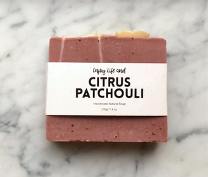 Citrus Patchouli Soap 柑桔廣藿香皂