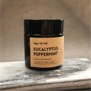 Eucalyptus Peppermint Soy Wax Candle 尤加利薄荷大豆蠟燭