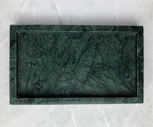 Green Marble Jewelry Tray 綠色大理石首飾盤