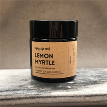 Lemon Myrtle Soy Wax Candle 檸檬香桃木大豆蠟燭
