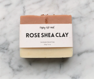 Rose Shea Clay Soap 玫瑰乳木果皂