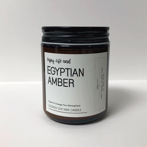 Egyptian Amber Soy Wax Candle 埃及琥珀大豆蠟燭