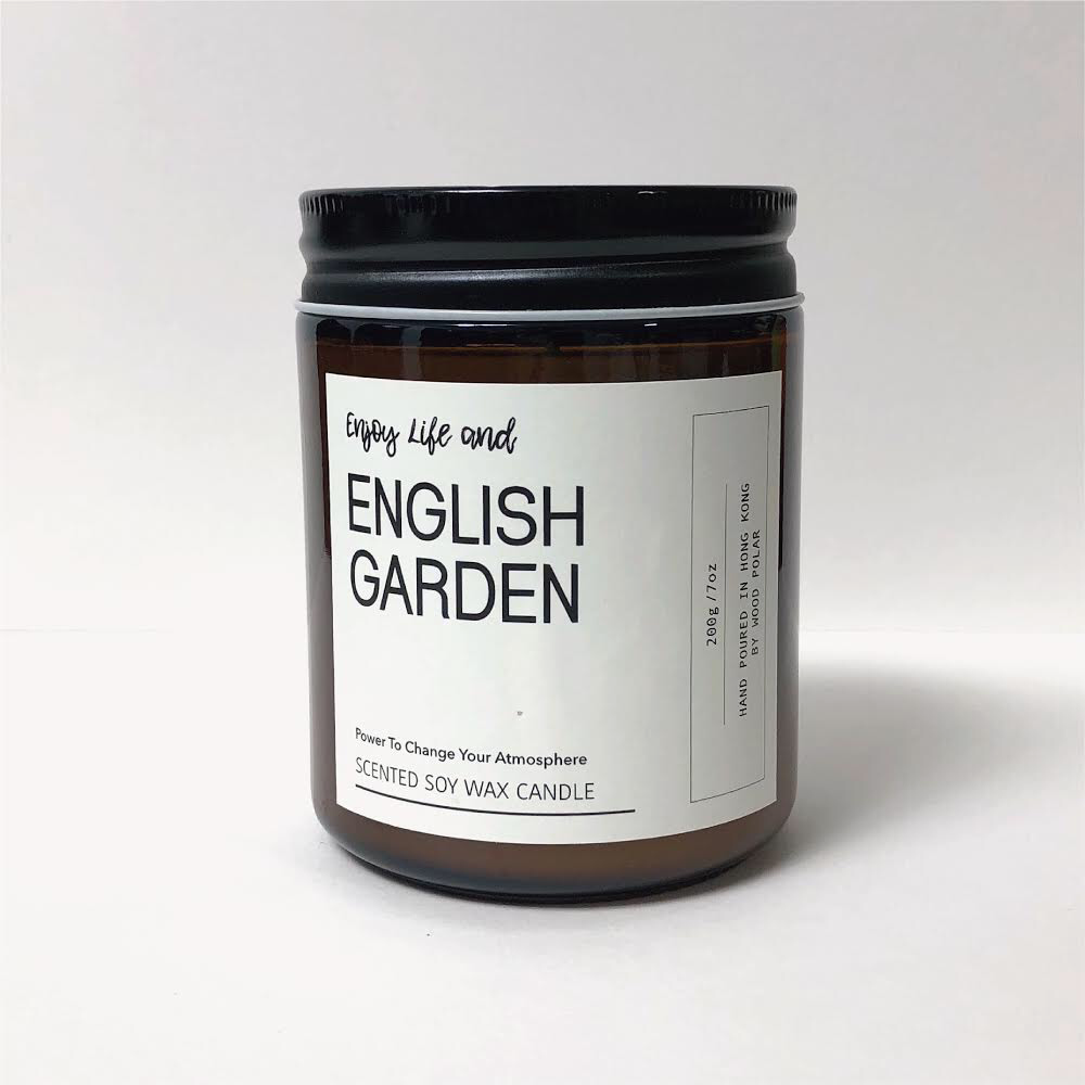 English Garden Soy Wax Candle 英式花園大豆蠟燭