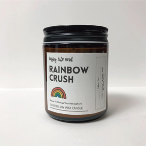 Rainbow Crush Soy Wax Candle