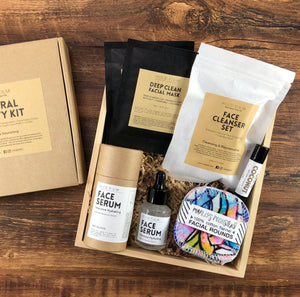 Natural Beauty Kit (Hydrating) 天然面部護理套裝