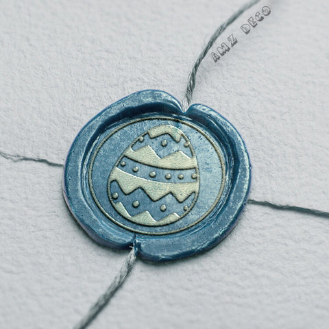 Easter Egg Wax Seal Stamp