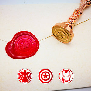 Superhero Team Wax Seal Stamp