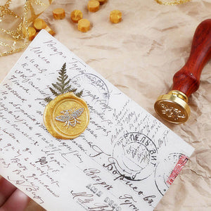 Customizable Bee Wax Seal Stamp