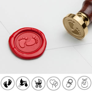 Customizable Baby Shower Wax Seal Stamp