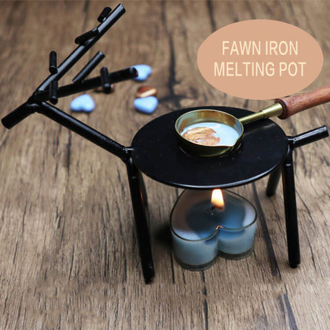 Desktop Melting Spoon Holder Set