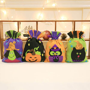 Drawstring Halloween Candy Bag