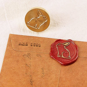 Easter Wax Seal Stamp - Rabbit