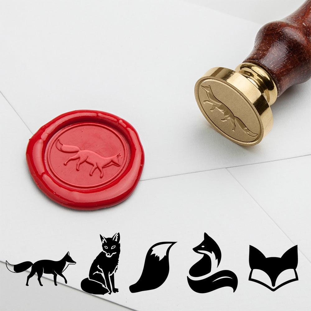 Fox Wax Seal Stamp