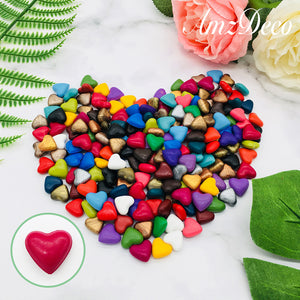 Heart Shaped Sealing Wax Beads (27 Colors)