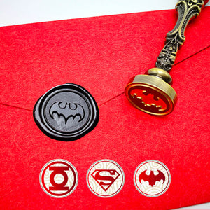 Superhero League Wax Seal Stamp