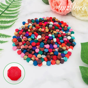 Octagon Sealing Wax Beads (20 Colors)