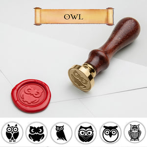 Owl Wax Seal Stamp
