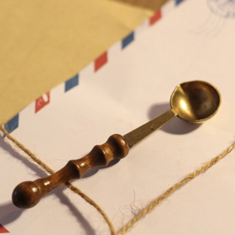 Sealing Wax Melting Spoon