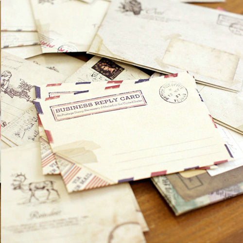 Vintage Assorted Mini Envelopes