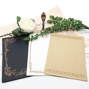 Vintage Writing Paper for Letters and Invitations