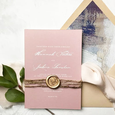 Wedding Wax Seal Stamp with leaves wedding invitation gift,Wax Stamp Gift Set Personalized Initials wax seal stamp Wedding wax stamp kit