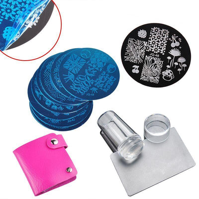 Branded NewNail Stamper + 10pcs Nail | Nail Art Stamp Plate