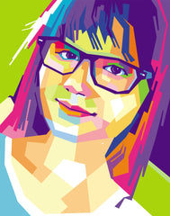 Louise Pop Art My Photo