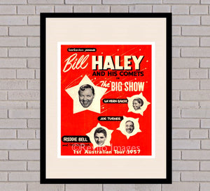 Bill Haley and the Comets - 1957 tour