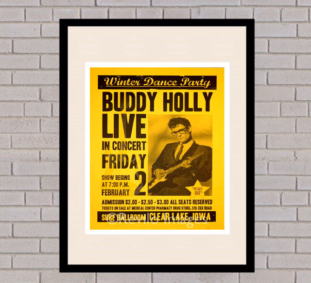 Buddy Holly - Iowa 2nd February