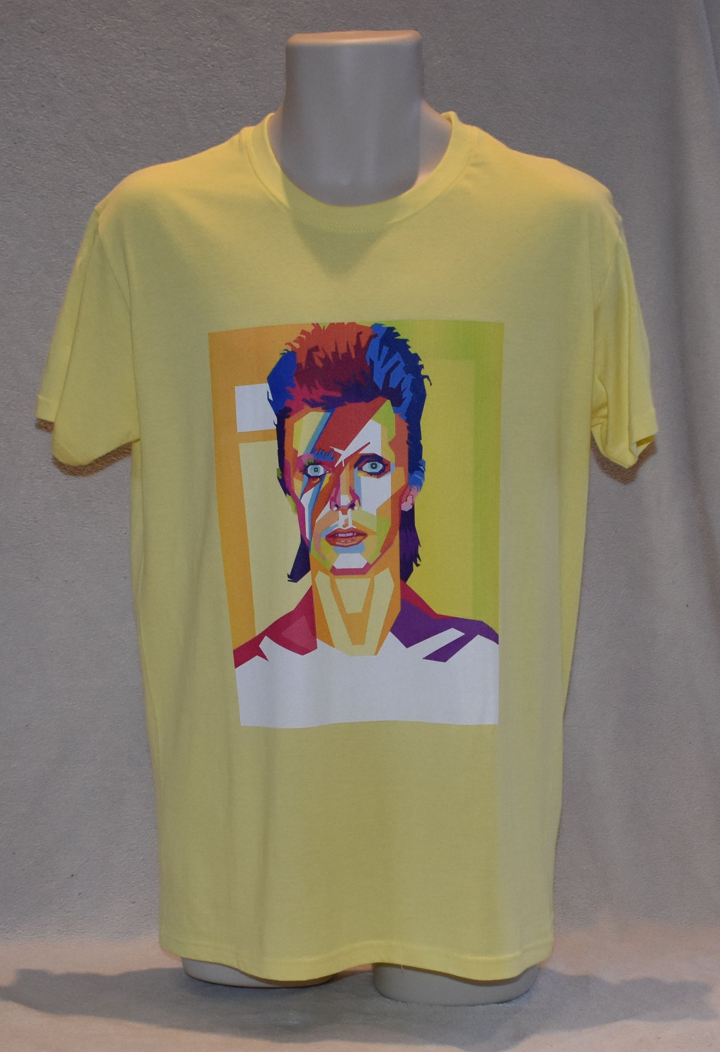 Pop Art T-Shirt - Mens -David Bowie