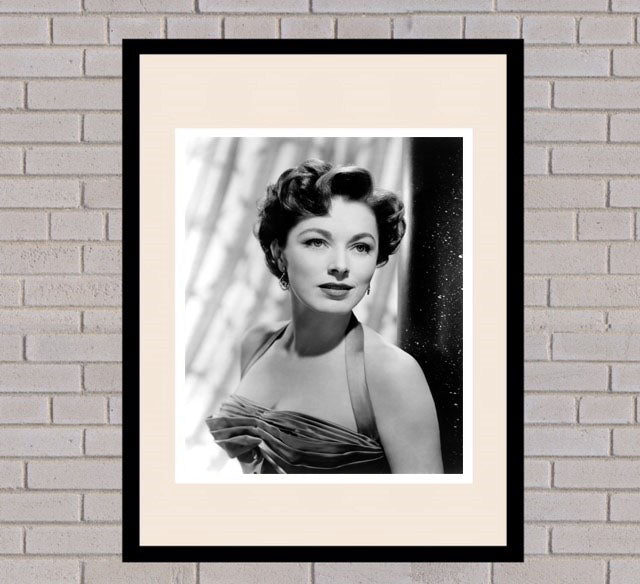 Eleanor Parker Black & White Framed Portrait