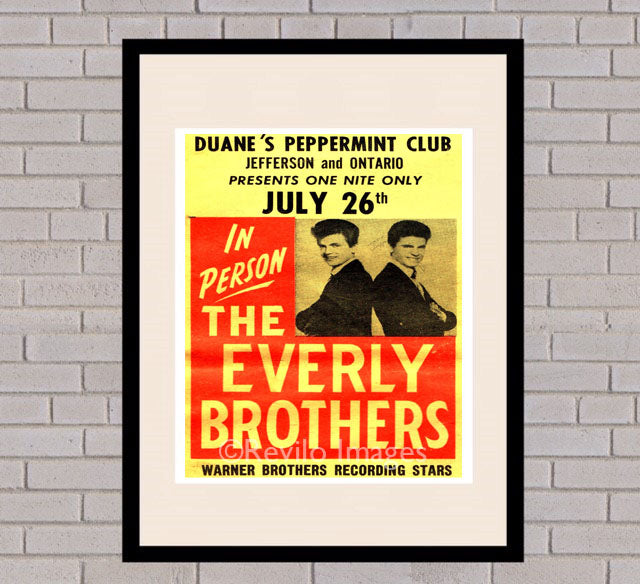 The Everly Brothers - Peppermint Club 26th July