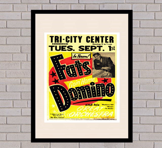 Fats Domino - Kennewick 1st September