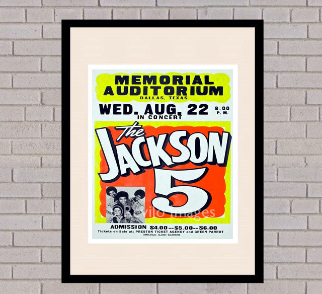 The Jackson 5 - Dallas 22nd August