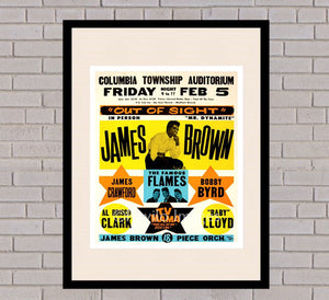 James Brown - Columbia 5th February