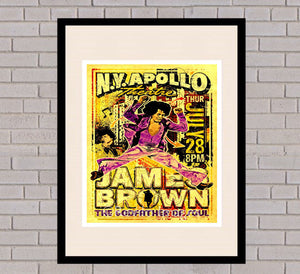 James Brown - New York 28th July