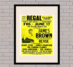 James Brown - Regal 17th June