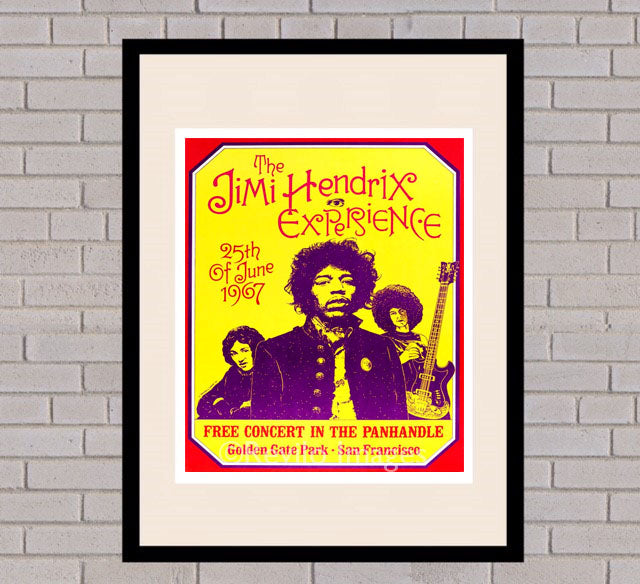 Jimi Hendrix - San Fransisco 25th June 1967