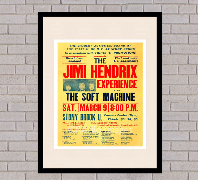 Jimi Hendrix - Stony Brook 9th March