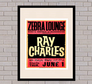 Ray Charles - Manchester 1st June